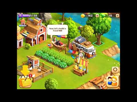 Funky Bay Farm Adventure Introduction Tutorial Gameplay 01 by Samfinaco iOS Mobile Devices