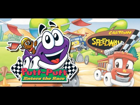 Putt Putt Enters the Race Gameplay part 3 Finding Mrs Airbag's hubcaps |