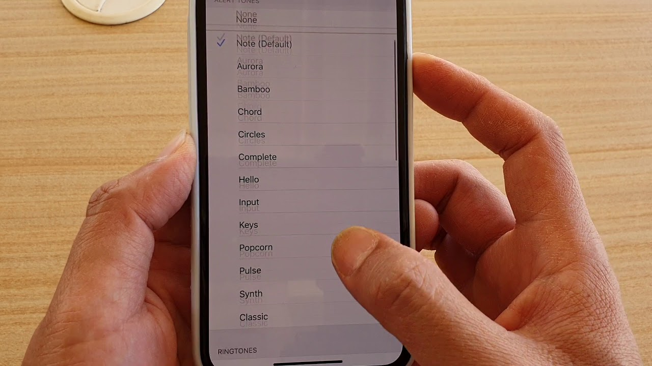 iPhone 11 Pro: How to Change Text Message Alert Tone Sound ...
