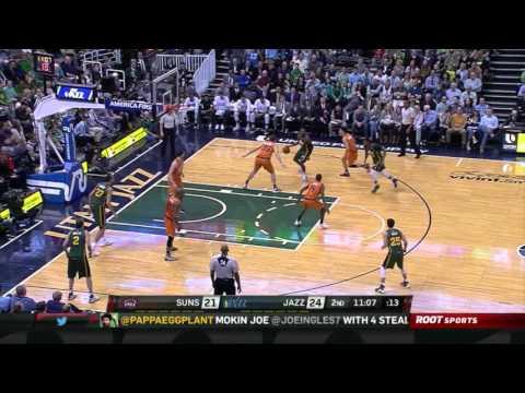 2016-03-17 Utah Jazz vs. Phoenix Suns - Joe Ingles Career Night