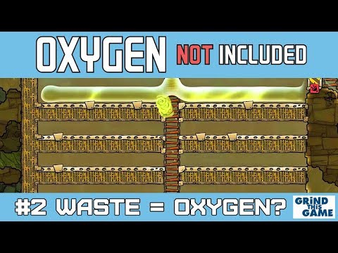 Helicona Ice World Map #2 - Waste = Resource? Oxygen Not Included Oil Upgrade