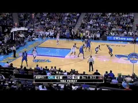 Magic VS Hornets 2/26/10 FULL HIGHLIGHTS *David West 40 Points*