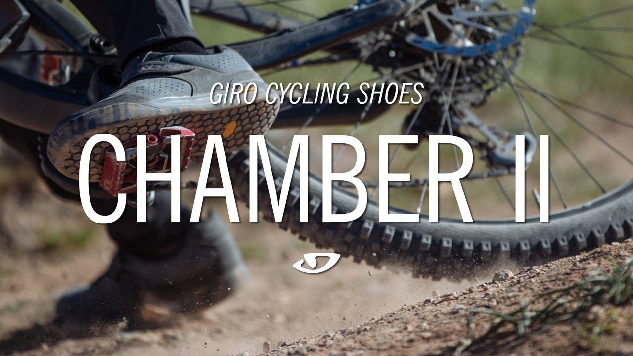5b31e75f8da6 Giro Chamber II Mountain Bike Shoes - YouTube