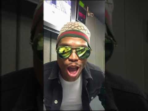 Somizi Singing his new song called Ngibonile featuring Heavy K