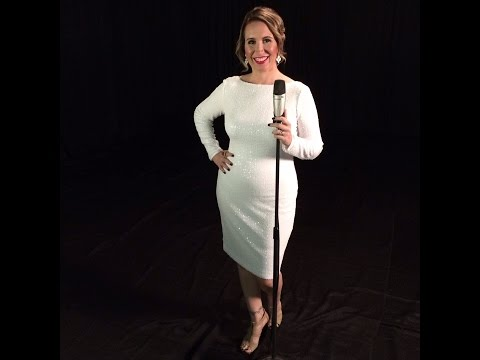 Singer and Actress Tara Marks Performs The First Noel