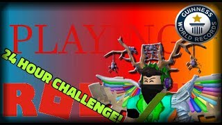 🔴[ROBLOX LIVE]🔴 | 24 HOUR CHALLENGE | JOIN US! #RoadTo500