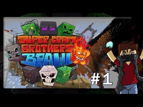 Minecraft [Mini-Game]: Super Craft Brothers #1 - حرب الاخوه الابطال