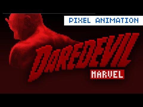 Daredevil Netflix Pixel Intro (Demolidor 8bit)