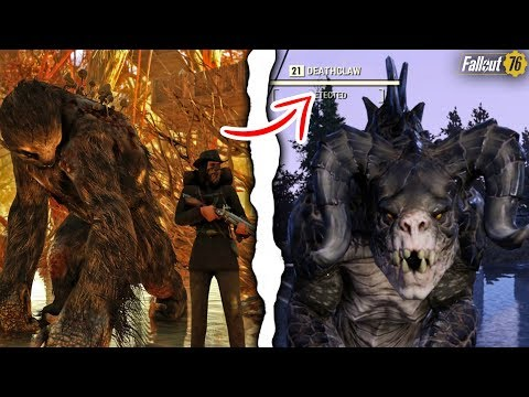 Fallout 76 - HOW TO TAME CREATURES AS YOUR PETS! Secret Perk, Friendly Deathclaw, Mega Sloth, & More thumbnail