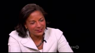 Susan Rice Laughs Uncontrollably When Charlie Rose Mentions Ukraine