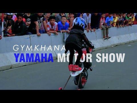 GYMKHANA YAMAHA MOTOR SHOW JAKARTA | SOULMATE EXTREME
