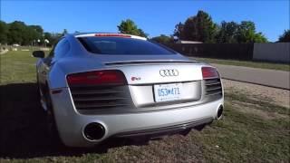 2015 Audi R8 V10 plus Revving