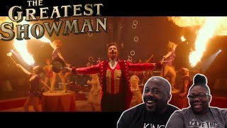The Greatest Showman Trailer {REACTION}!!