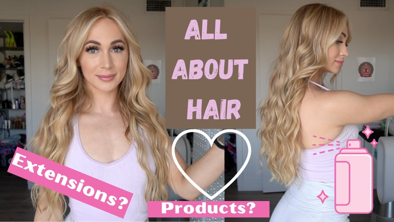 Lets talk: HAIR. Extensions, products, and much more!