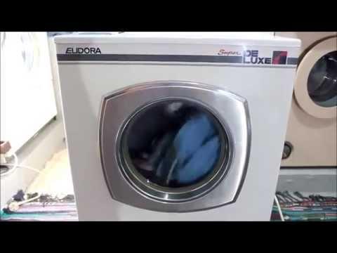Waschmaschine Eudora Super DeLuxe4 Inspektion und Testlauf!