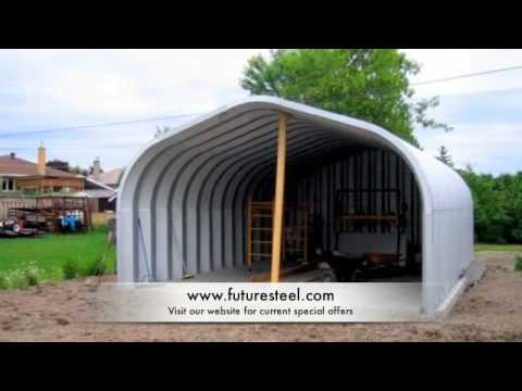 Future Steel Building Testimonials Residential Youtube