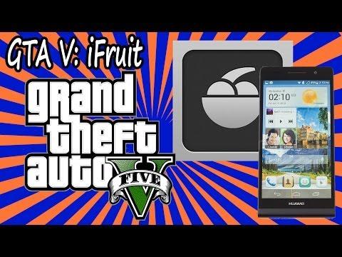 GTA V, iFruit para Android (archivo apk en la descripción)
