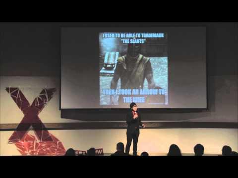 A new slant on racism: Simon Tam at TEDxUofW