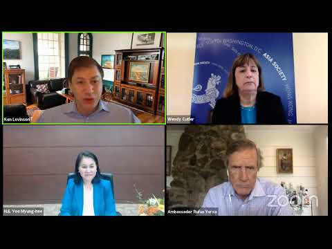 WITA Webinar: Conversation with WTO Director General Candidate H.E. Yoo Myung-hee
