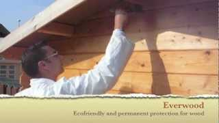 Ecobeton - Fireproof and waterproof treatment for wood