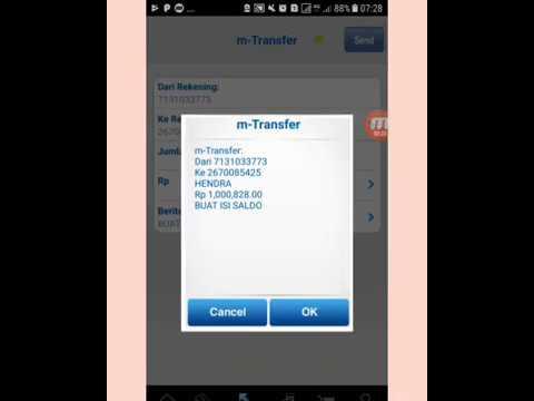 Server Pulsa Isi Saldo Via Internet Banking Bca Youtube