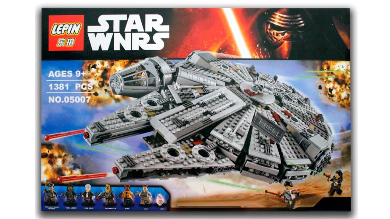 LEPIN STAR WARS 05007 LEGO 75030 HALCON MILENARIO SPEED ...