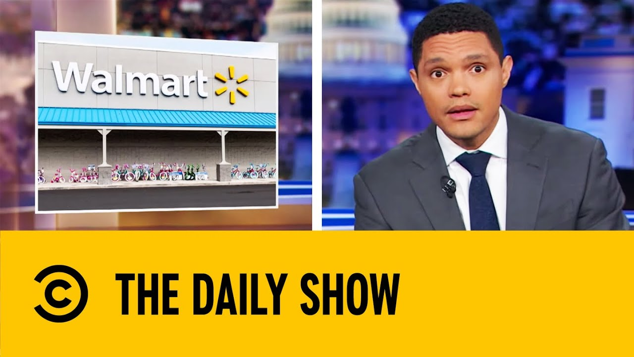 Walmart Plans To Halt All Sale Of Handgun Ammunition | The Daily Show With  Trevor Noah