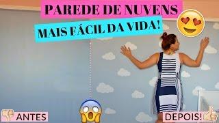 PAREDE DE NUVENS MAIS FÁCIL DA VIDA!!