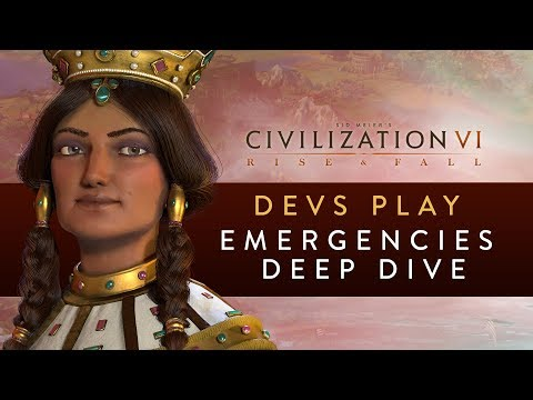 Civilization VI: Rise and Fall - Devs Play Georgia (Emergencies Deep Dive)