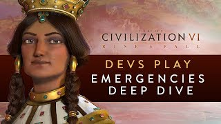 Video Civilization VI: Rise and Fall - Devs Play Georgia (Emergencies Deep Dive) download MP3, 3GP, MP4, WEBM, AVI, FLV Maret 2018