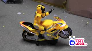 WWW.TOYLOCO.CO.UK Battery Operated Racer Motor Bike With Music And Lights