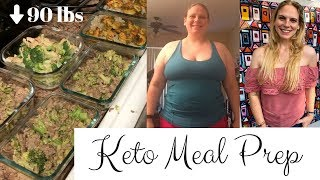 Easy Keto Meal Prep for Weight Loss