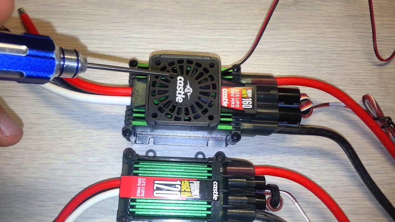 CASTLE CREATIONS CREATION PHOENIX EDGE 160 HV LITE 50V 160A 160 AMP 160HV ESC