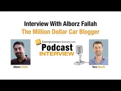 Alborz Fallah: The Million Dollar Car Blogger