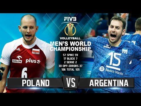 Poland vs. Argentina | Volleyball Highlights | Mens World Championship 2018