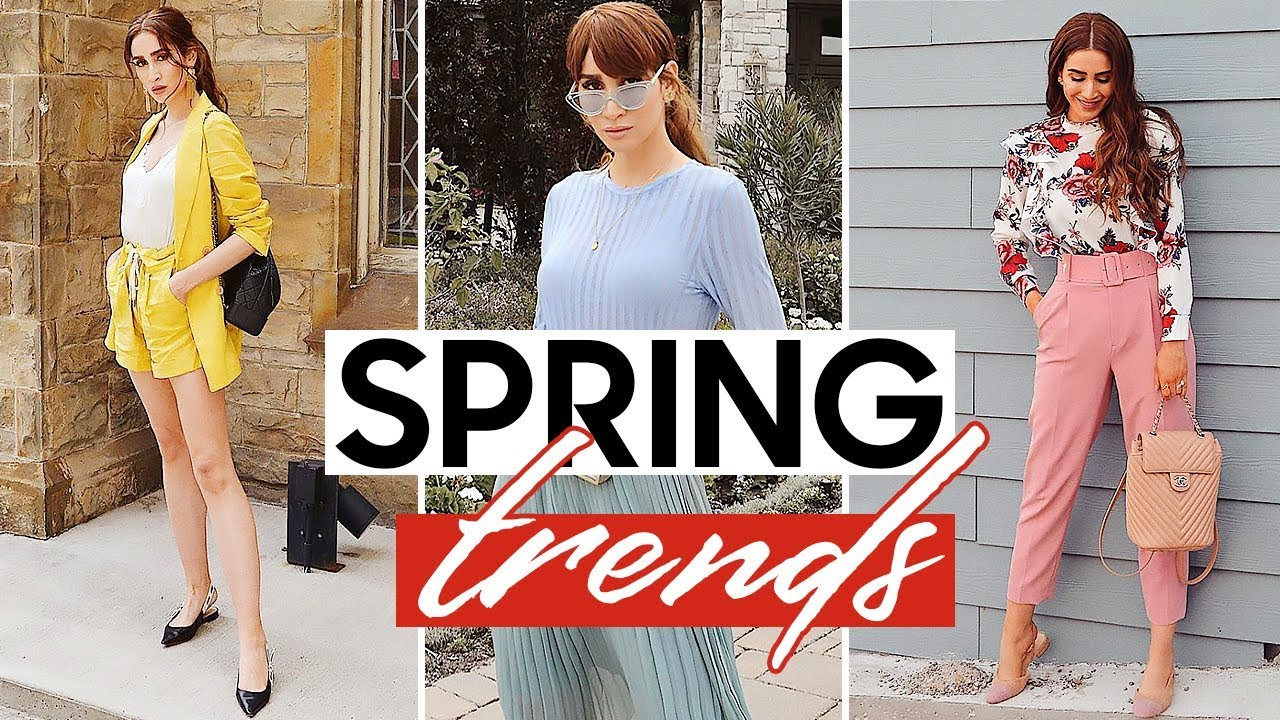 16 Fashion Trends That Are Easy to Wear | Spring / Summer 2019