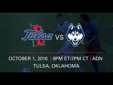 American Men's Soccer: UConn at Tulsa