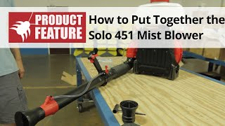 How to Put Together the Solo 451 Backpack Mist Sprayer