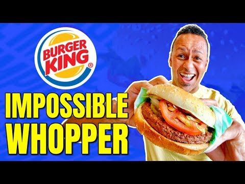 Burger King Goes Vegan / Burger King Impossible Burger Review