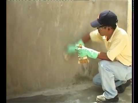 Thi công sika chống thấm nhà vệ sinh bể nước uống Sikatop Seal 107