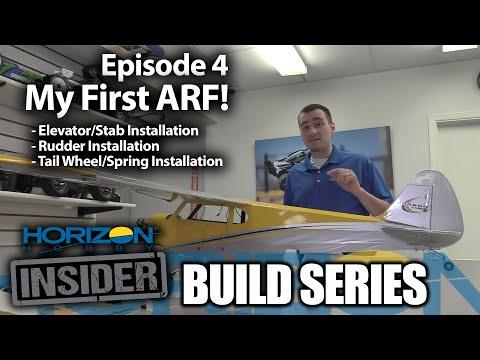 Horizon Insider Build Series - Episode 4 - My First ARF!