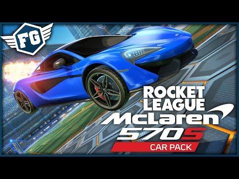McLaren 570S VE HŘE! - Rocket League thumbnail