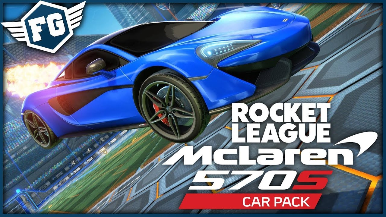 Mclaren 570s Ve Hre Rocket League Youtube