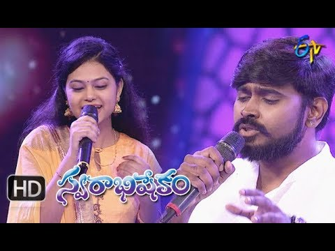 Chinnaga ChinnagaSong | Deepu,Ramya Behara Performance|Swarabhishekam|19th August 2018|ETV