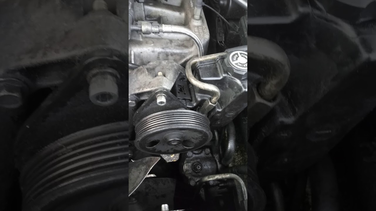 Serpentine Belt Replacement 1995 Jeep Cherokee Youtube