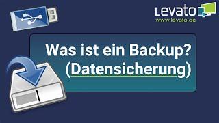 Levato.de | Was ist eigentlich eine Datensicherung / ein Backup?