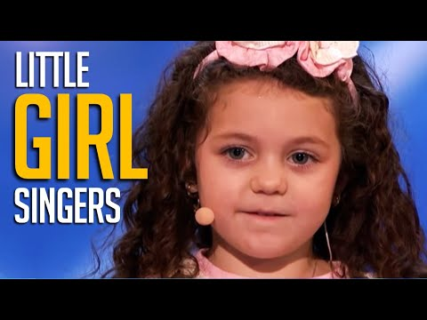 The BEST Little Girl Singers with HUGE Voices on America's Got Talent