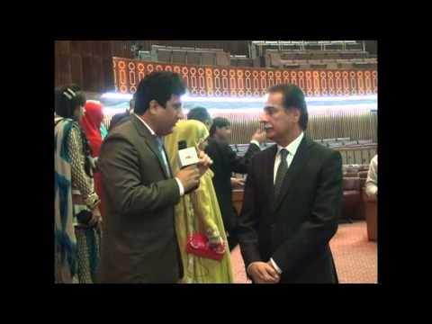 interview with speaker National assembly