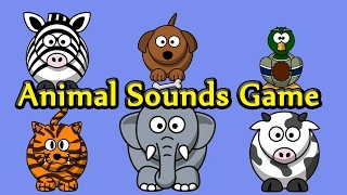 Interactive Animal Sounds Game by Kids Learning Videos thumbnail