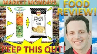 Arizona® Mango Lime Rickey / Lay's® Lattice Cut Aged Cheddar & Black Pepper Potato Chips Review!
